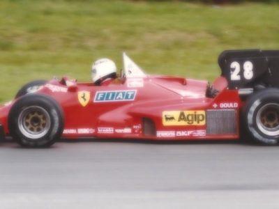 Ferrari 126 C4 Belgium GP 1984 R. Arnoux 3rd Place scale 1:18