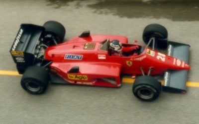 Ferrari 156/85 Canada GP 1985 S. Johansson 2nd Place scale 1:18