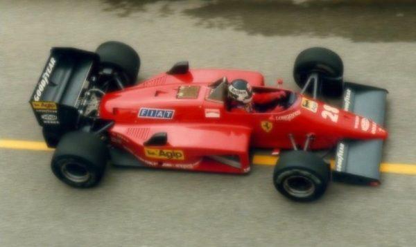 Ferrari 156/85 Canada GP 1985 S. Johansson 2nd Place scale 1:18