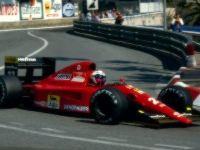 Ferrari 642 Monaco GP 1991 A. Prost 5th Place scale 1:18