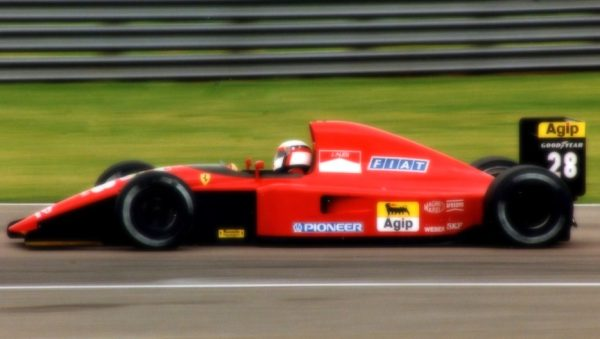 Ferrari 643 Germany GP 1991 J. Alesi 3rd Place scale 1:18
