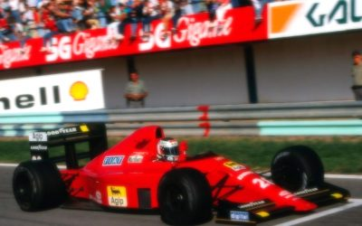 Ferrari F1 640 Portugal GP 1989 G. Berger Winner scale 1:18