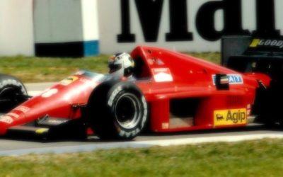 Ferrari F1-86 Austria GP 1986 S. Johansson 3rd Place scale 1:18