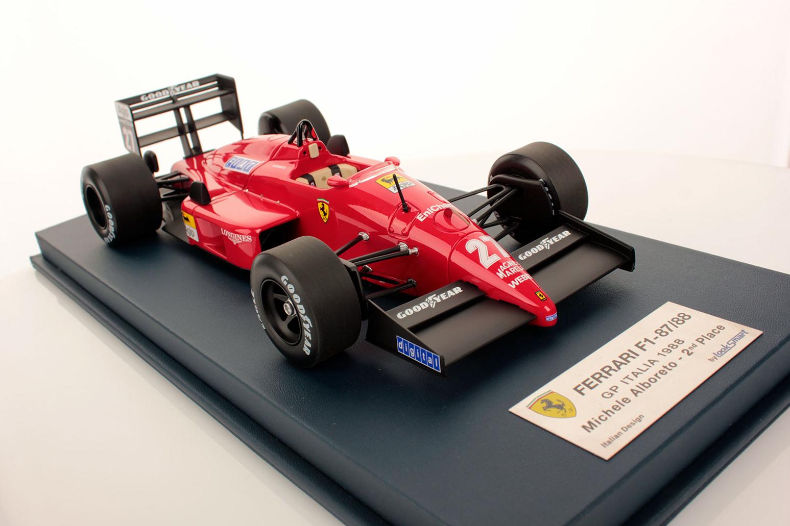 Ferrari F1 87 88 Italy 1988 1 18 Looksmart Models