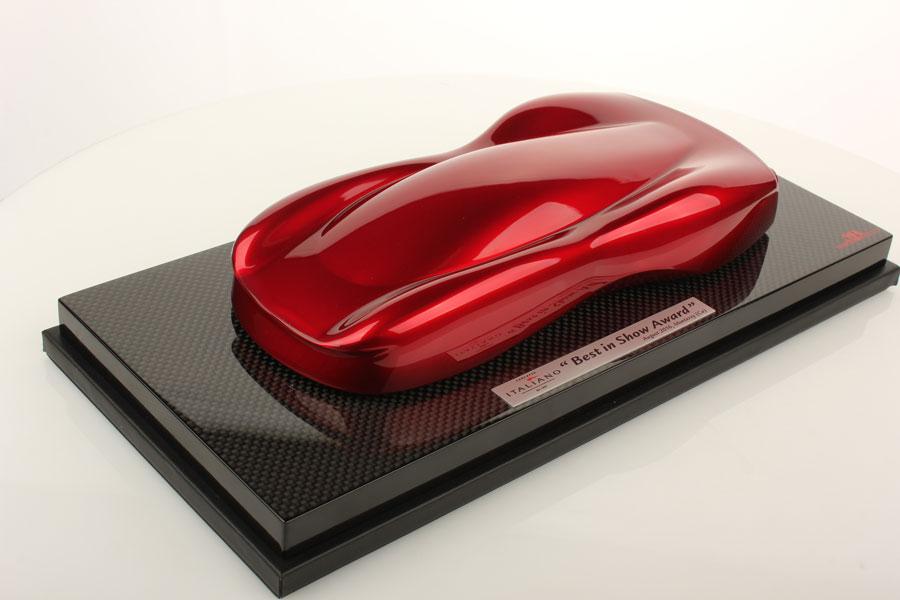 Bugatti Prize >> Giugiaro awards a IAAD student with a sculpture made by MR Group for Concorso Italiano ...