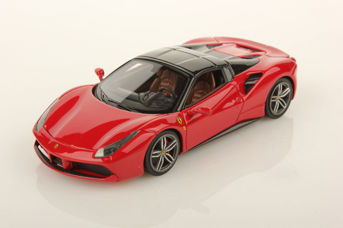 Ferrari 488 Spider Hard Top 1:43 - Looksmart Models