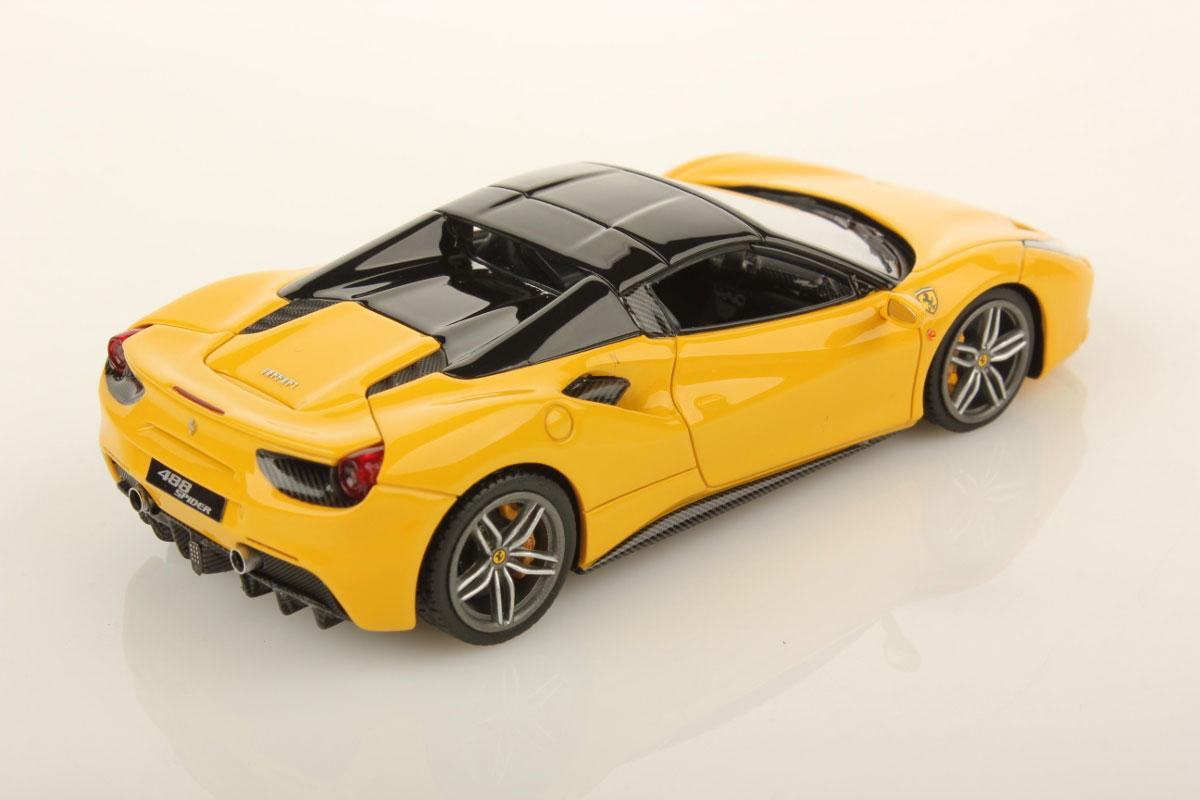 Ferrari Spider Hard Top Yellow on Alfa Romeo Spider Frame