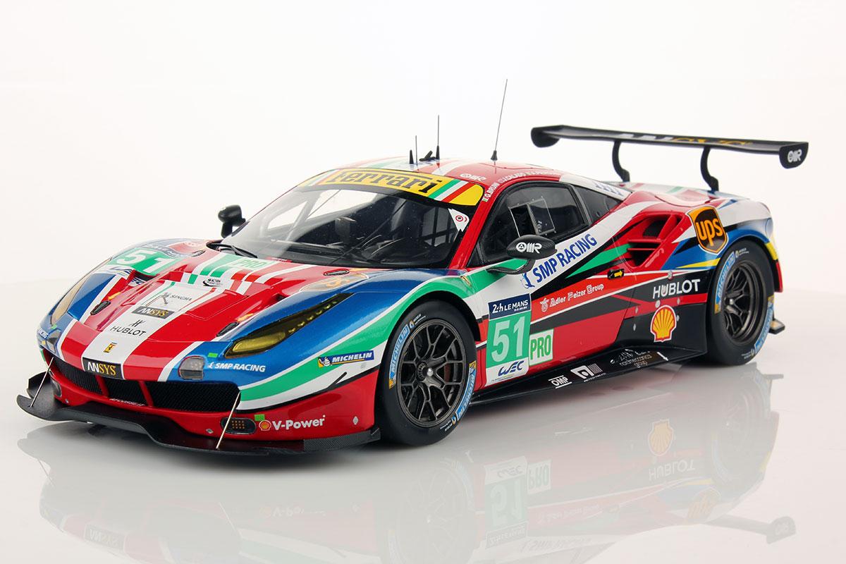 Ferrari 488 Gte Le Mans Series 2016 51 1 18 Looksmart Models