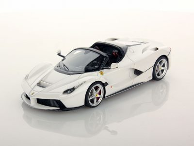 LaFerrari Aperta 1:43 White