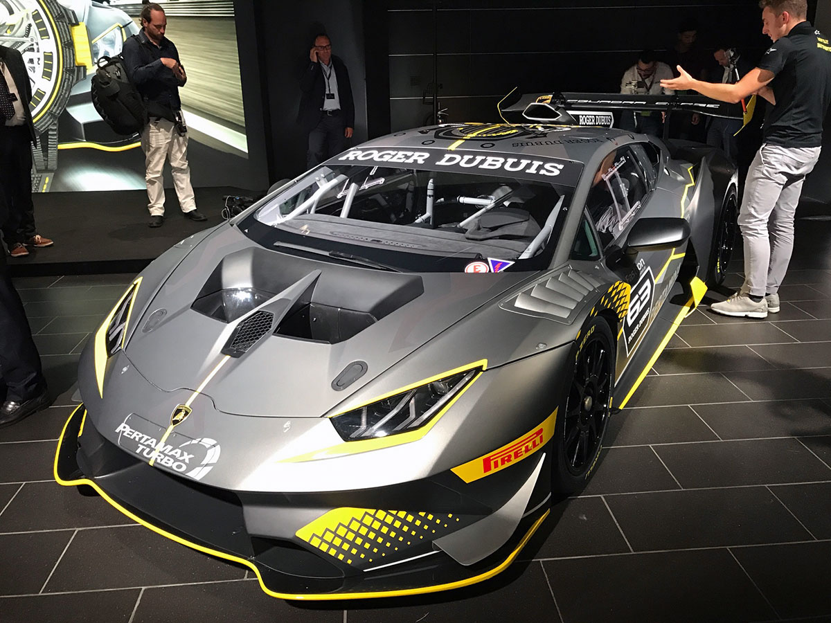 Mr Group At The Official Launch Of Lamborghini Huracan Super Trofeo