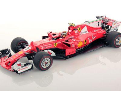 Ferrari SF70H Monaco GP Kimi Raikkonen 1:18