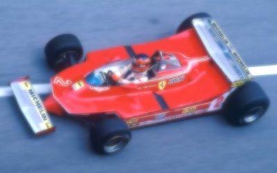 Ferrari 512 T Monaco 80 Villeneuve 1:18