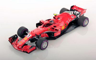 Ferrari SF71H Australia 2018 Raikkonen 3rd 1:43