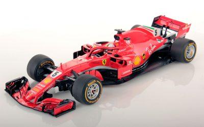 Ferrari SF71H Australia 2018 Vettel winner 1:18