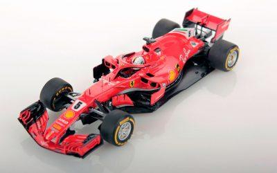 Ferrari SF71H Australia 2018 Vettel winner 1:43