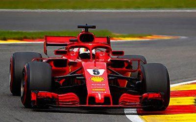 Ferrari SF71h Belgian GP 2018 Sebastian Vettel winner 1:43 1:18