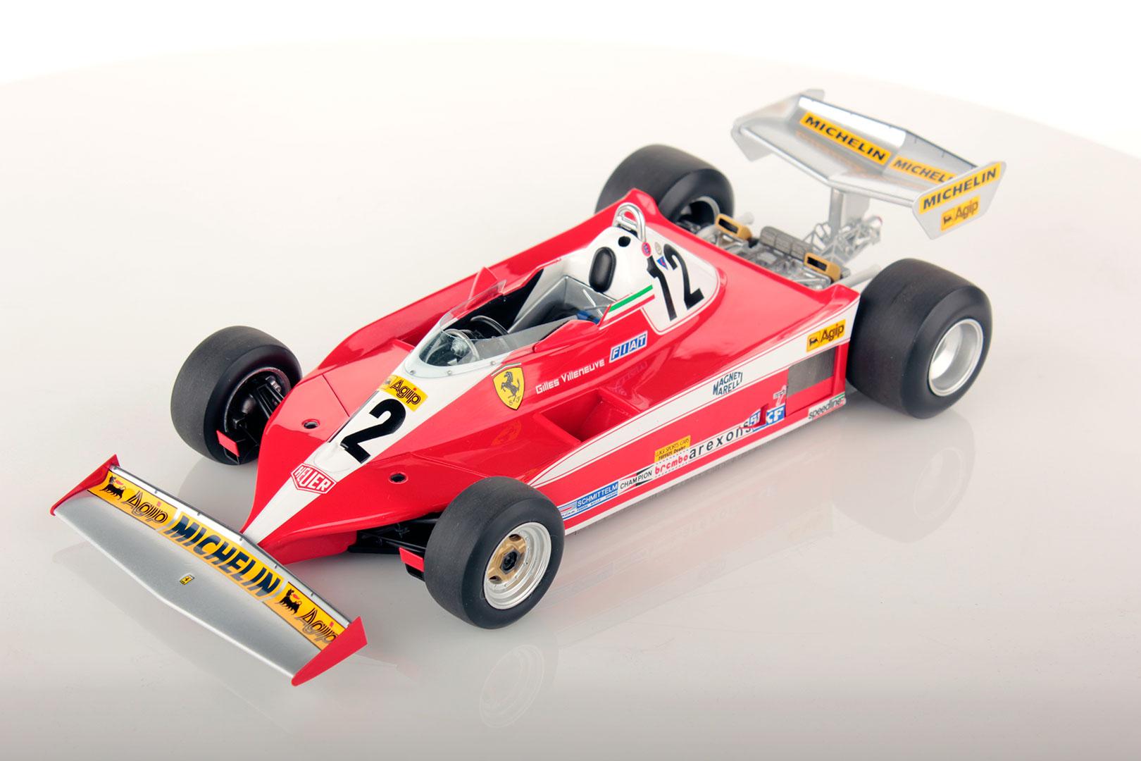 Ferrari 312 T3 Canada Gp 1978 Villeneuve 1 18 Looksmart Models