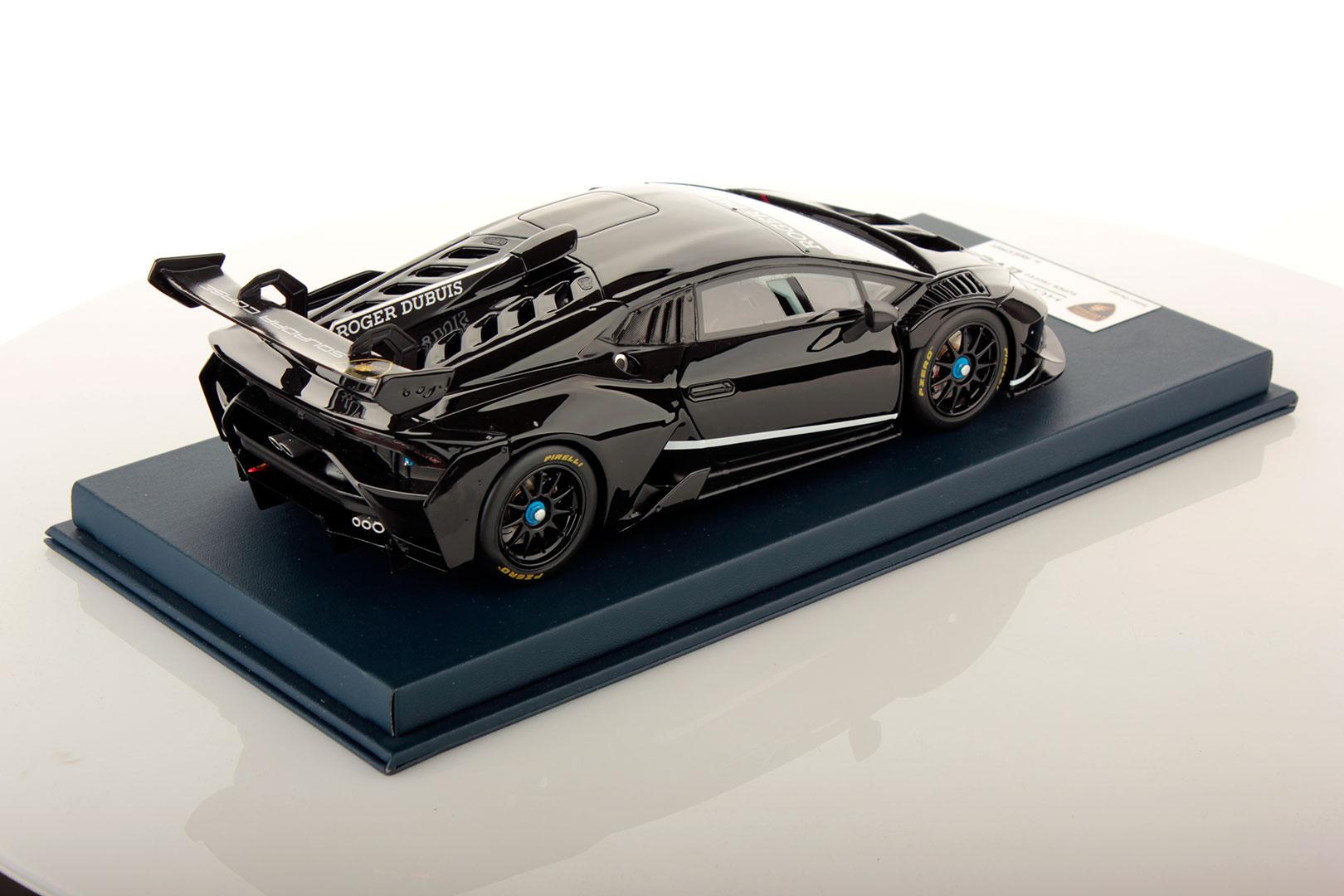 Lamborghini Huracan Super Trofeo Evo Shiny Black 1 18 Looksmart Models