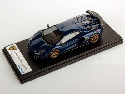 Lamborghini Aventador SVJ Blu Sideris 1:43