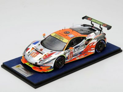 488 GTE Clearwater racing car no. 61 1:18