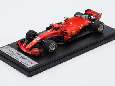 Ferrari SF71h Kimi Raikkonen winner Austin 2018 USA GP 1:18 1:43