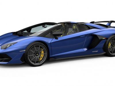 Lamborghini Aventador SVJ Roadster 1:43