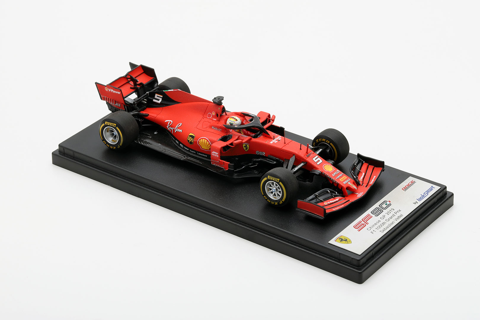 Ferrari Sf90 China Gp 2019 1000th Gp Vettel 1 43 Looksmart Models