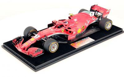 Ferrari SF71H Raikkonen USA 2018 Winner 1:18