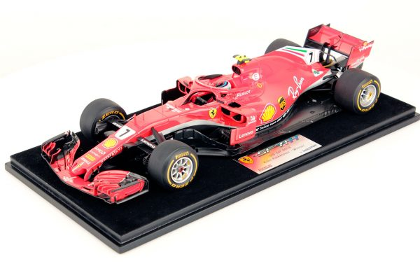Ferrari SF71H Raikkonen USA 2018 Winner 1:18