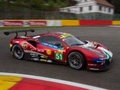 Ferrari 488 GTE EVO No.51 AF Corse Scale 1:43 1:18