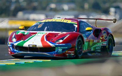 Ferrari 488 GTE EVO No.71 AF Corse Scale 1:43