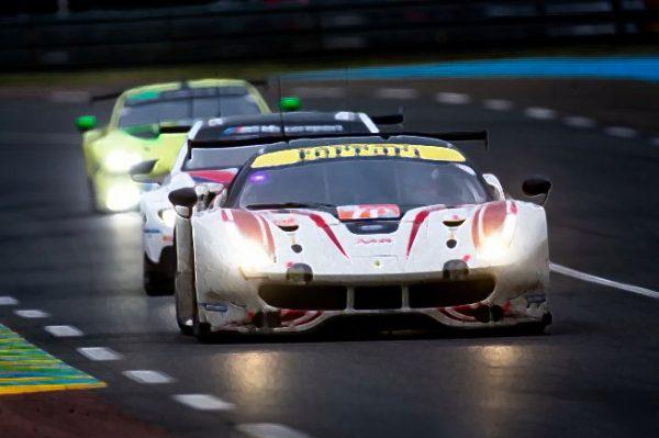 Ferrari 488 GTE No.70 MR Racing Scale 1:43