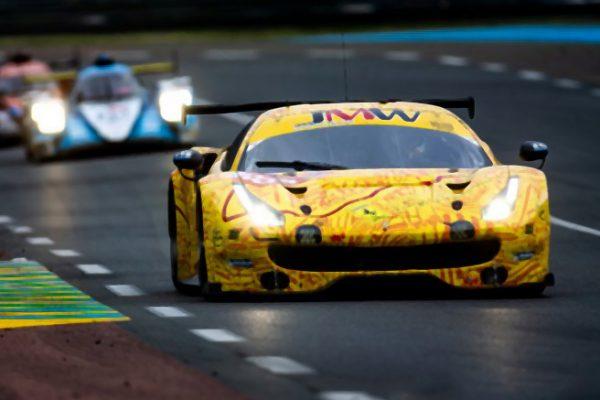 Ferrari 488 GTE No.84 JMW Motorsport Scale 1:18