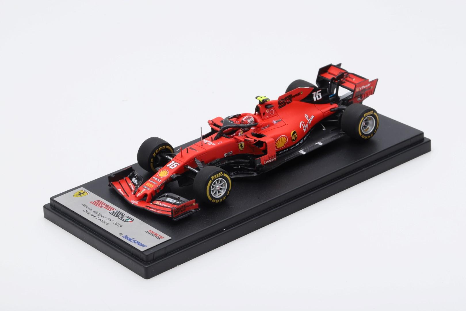 Ferrari Sf90 Belgian Gp 2019 Leclerc 1 43 Looksmart Models