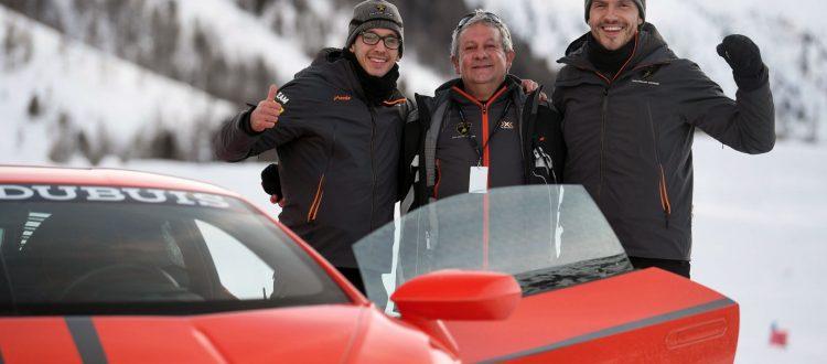Lamborghini Esperienza Neve Accademia 2020 Livigno Egidio Reali